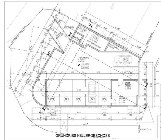 Grundriss Kellergeschoss - 1 z