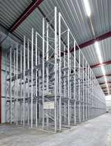 Tiefkühllagerhalle mit 6800 Palettenplätzen direkt