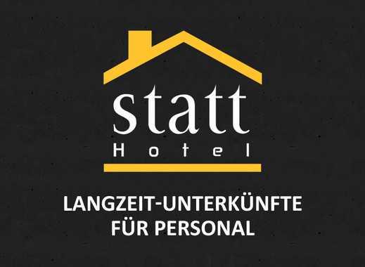 LANGZEIT-Unterkünfte für PERSONAL: Betten frei in Duisburg!