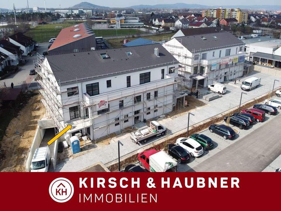 Für Singles und das Paar!  Tolle 2-Zimmer-Wohnung, NEUBAU-Erstbezug,  Neumarkt - Regensburger S... in
