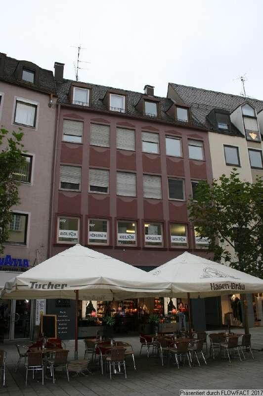 Attrakive Wohnung mit Einbauküche in Top-Zentrumslage in Augsburg-Innenstadt