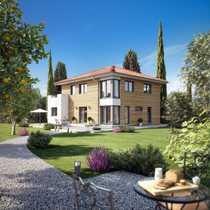 Schönes Haus großer Garten - Blick