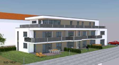 Erstbezug: stilvolle 2-Zimmer-Wohnung mit Einbauküche, Tageslichtbad und Balkon in Vöhringen in Vöhringen (Neu-Ulm)