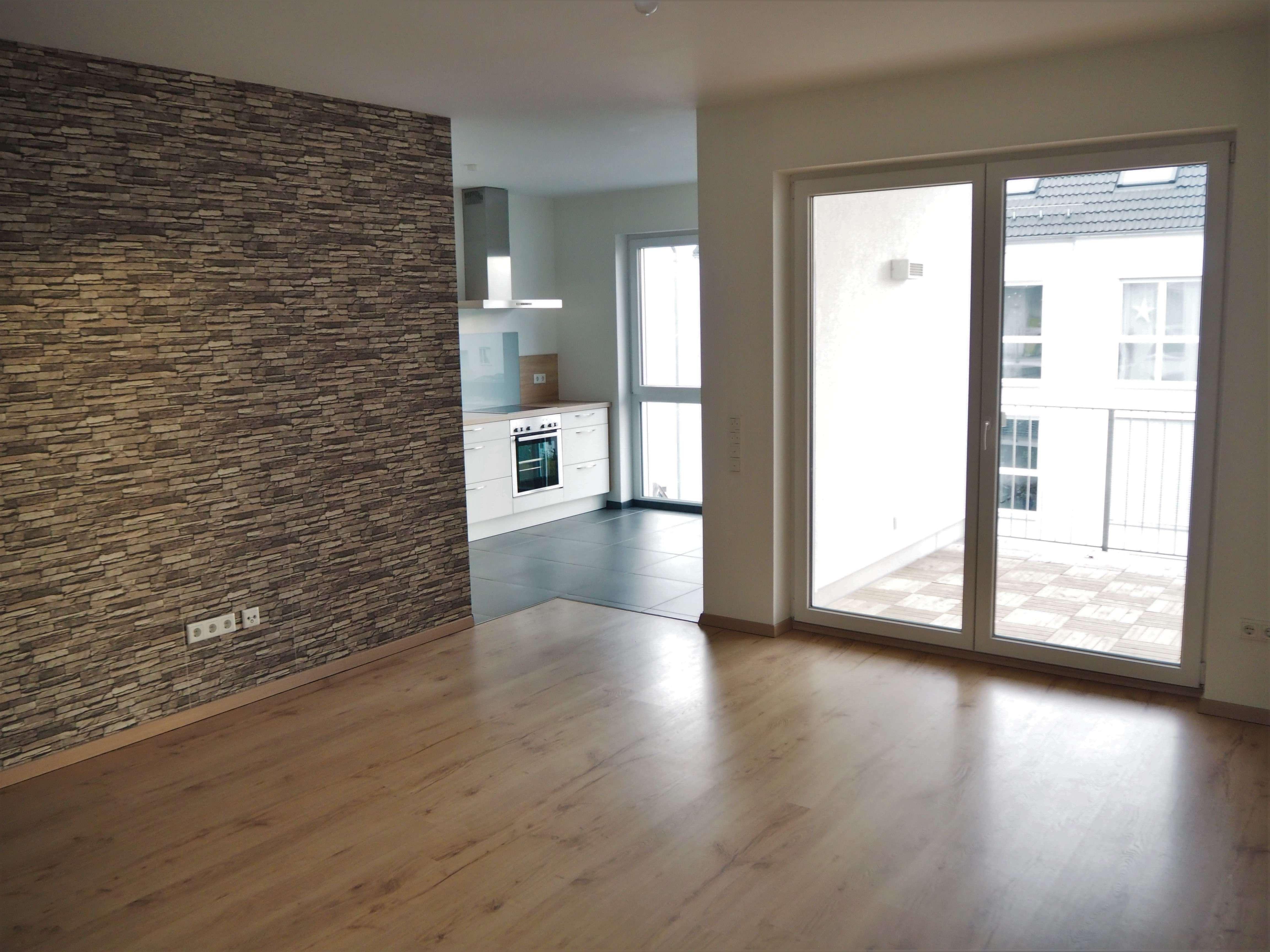neuwertige 2-Zimmer-Wohnung mit Balkon und Einbauküche in perfekter Stadtlage von Aschaffenburg in