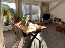 Moderne Wohnung im Grünen sucht