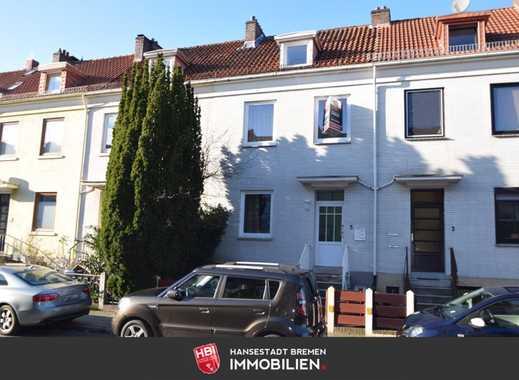 Huckelriede / Reihenhaus mit 3 Wohneinheiten in ruhiger Seitenstraße mit Balkon und Garten