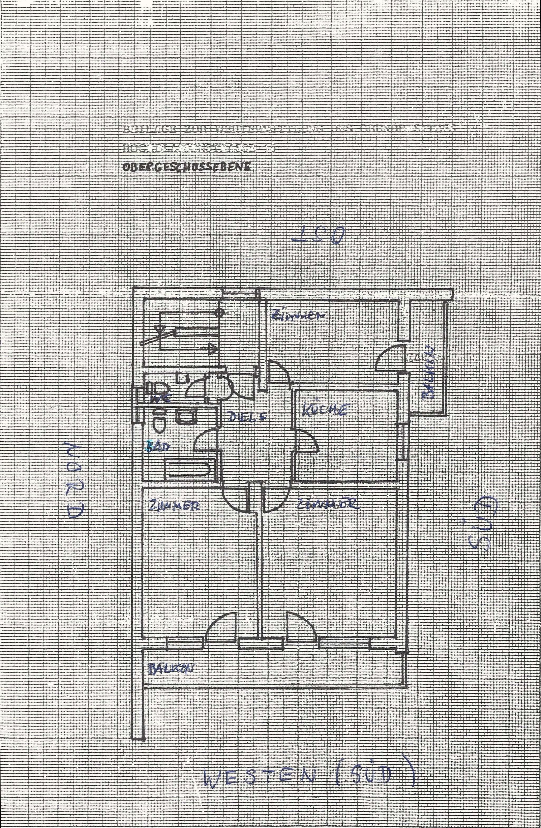 Sonnige 3-Zimmer-Wohnung mit 2 Balkonen in in Garmisch-Partenkirchen