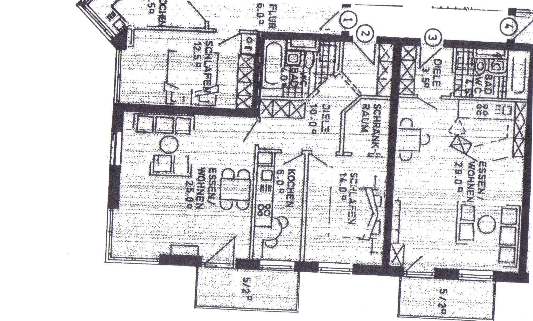 Feldkirchen, 2 Zimmer-Wohnung in Feldkirchen (München)
