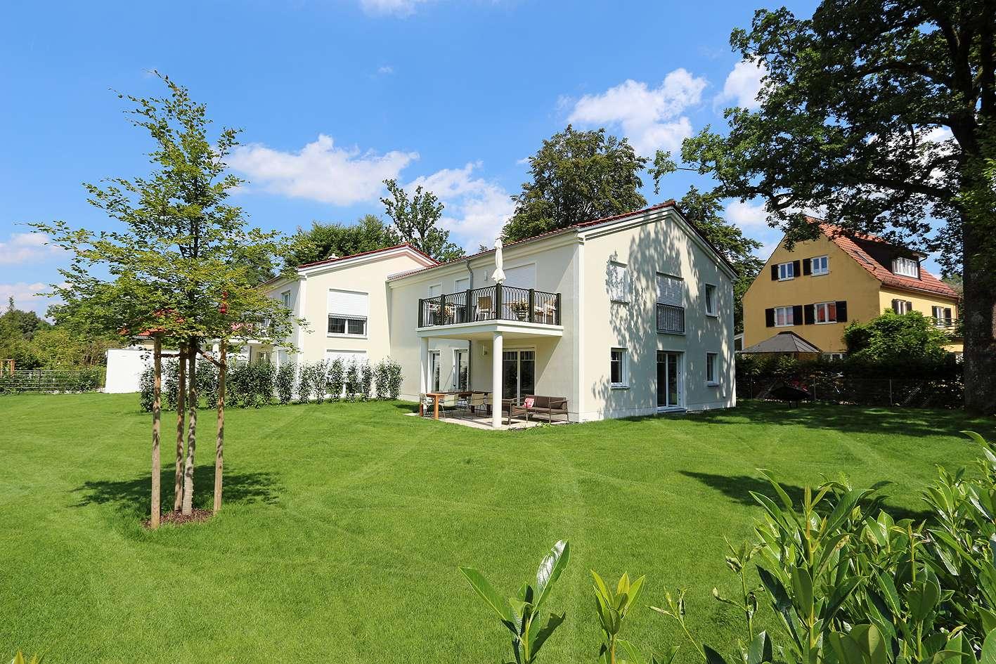 Ruhige, hochwertige 3-Zimmer Wohnung mit Gartenanteil in Waldkolonie Gauting