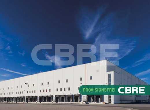 Großes Logistikzentrum direkt an der A10