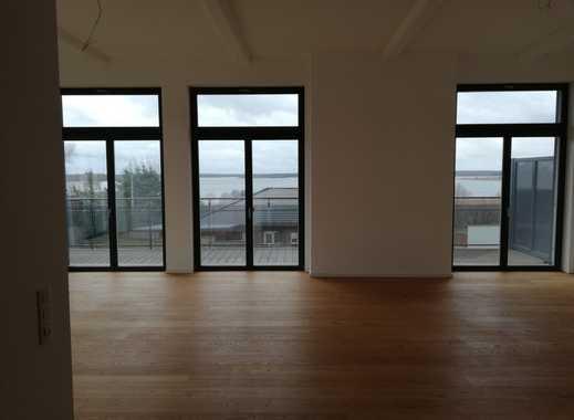 Neuwertige 4-Zimmer-Loft-Wohnung mit Balkon und EBK in Muldestausee