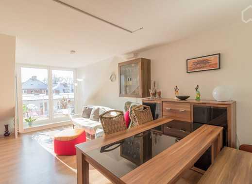 Moderne, helle Wohnung über den Dächern Hamburgs mit Loggia & Sauna - 5 min bis zur Alster