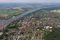 Neubaugebiet am Rand von Lauenburg