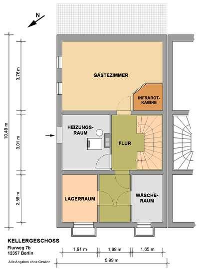 DHH mit 150m² Wohnfläche im Rudower Blumenviertel - Bild 27