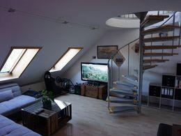 Wohnzimmer Treppe DG