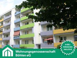 Hofseite mit Balkonen