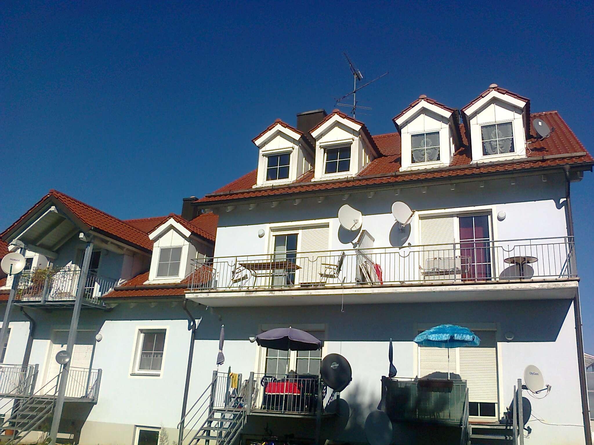 3 Zi.- Wohnung im 1. OG Langenbruck, schöner SW- Balkon im Herzen der Hallertau in
