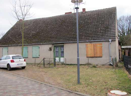 Großzügige Hofstelle/Bauernhof mit Sanierungsbedarf auf großem Grund in Haßleben ( UM )