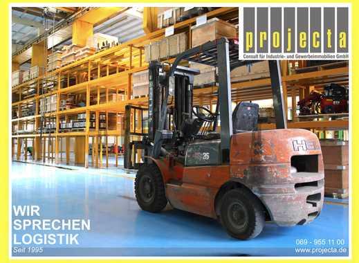 FFM-WEST: Produktionshalle mit Druckluft & Kränen | AB SOFORT: 0151-510-16-422
