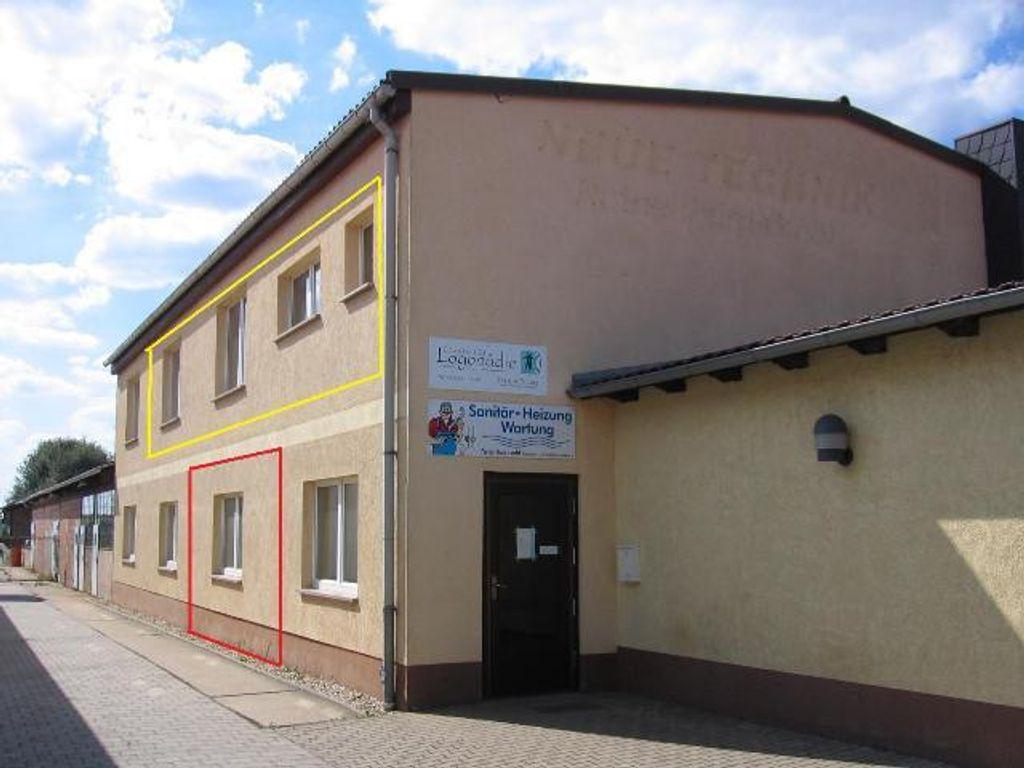 Rothenburg - Büro - gelb