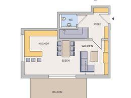 Grundriss Maisonette-Wohnung
