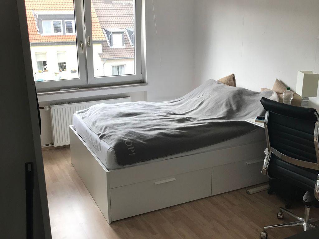 exklusive 1 zimmer wohnung mit einbauk che in frankfurt am. Black Bedroom Furniture Sets. Home Design Ideas