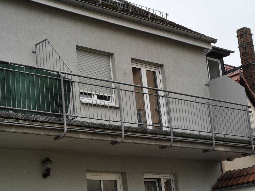 Maisonette mit Balkon