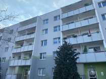 Bezugsfertige 3-Raum Wohnung mit Balkon