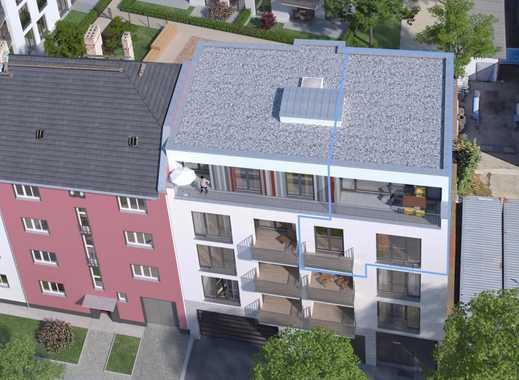 4-Zimmer-Dachgeschoss-Wohnung über 2 Etagen mit Südterrasse