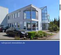 """Bild zu vermieten: Produktionshalle mit modernem Bürogebäude """"Auf der Hofestatt""""!"""