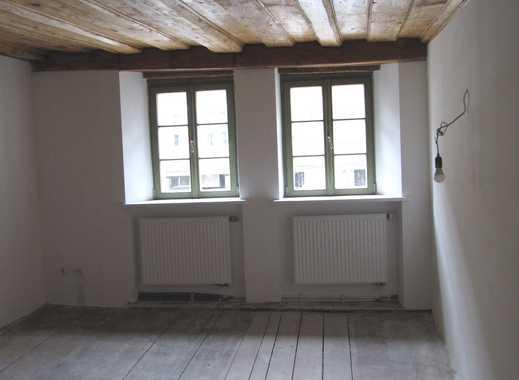 Denkmalschutz aus dem 14. Jahrhundert ! Außergewöhnliche 2-ZW ca.40 qm, Einbauküche, im 1.OG