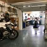 Werkstatt und Garage