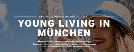 Ca. 92 % vermietet -Neubau- 62 Modern möblierte Apartments - volle Kostenkontrolle in Ramersdorf (München)