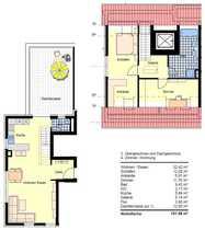 Sonnige Dachterrassenwohnung Whg 7