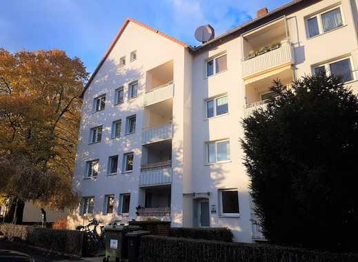 sanierte 3-Zimmerwohnung in der List mit Balkon!