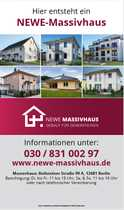 Bild Neubau Doppelhaushälfte in Berlin Biesdorf, zu Fuß zur U-Bahn.