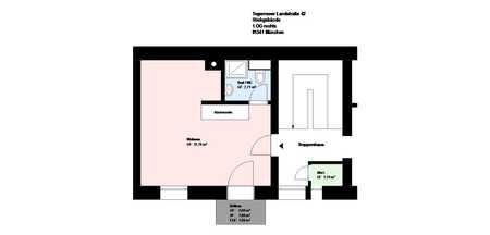 *Obergiesing*teilsaniert*1 Zimmer mit Balkon*möbliert*neue EBK*Bad mit Dusche*Kellerabteil* in Obergiesing (München)