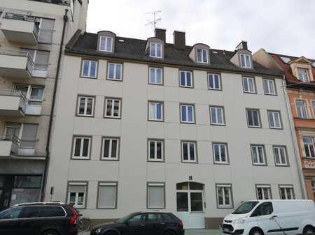 Renovierte Wohnung in sehr guter Lage, inkl. Küche und Balkon, WG geeignet in Schwanthalerhöhe (München)