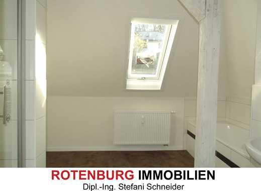Erstbezug - kernsanierte 2-Zi-Wohnung stadtnah in Rotenburg