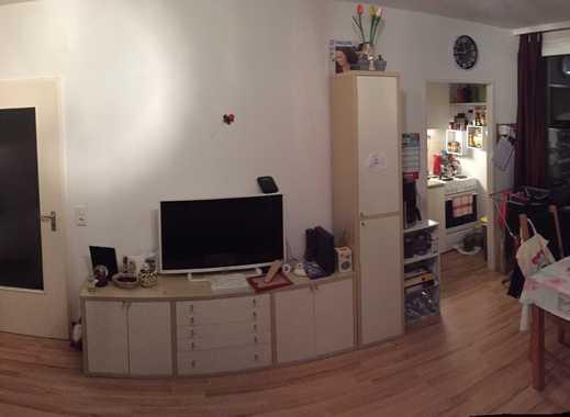 Exklusive 1-Zimmer-Wohnung mit Balkon und Einbauküche in Offenbach