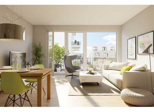 Genießen Sie die Sonne auf Ihren 2 Terrassen! Moderne 2-Zimmer-Maisonettewohnung in begehrter Lage