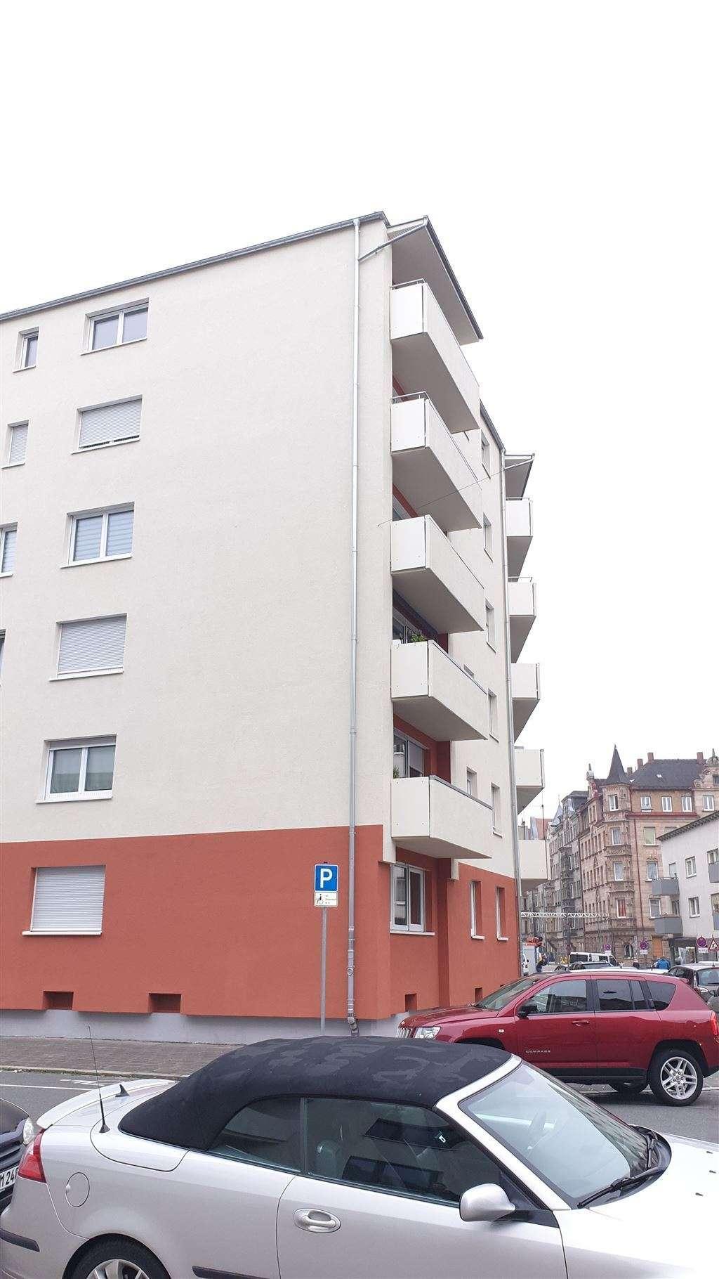 Fürth! Neuwertige & großzügige 2-Zimmer-Wohnung mit Balkon! in Südstadt (Fürth)