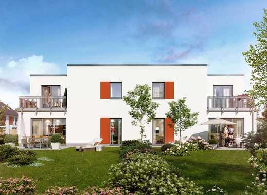 Doppelhaushälfte mit herrlichem Garten, viel Stellfläche und hervorragenden Belichtungsverhältnissen
