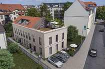 Neubauhaus Dachterrasse ruhige Seitenstraße Stellplatz