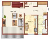 Pfalzel TOP-renoviertes Miet-Appartement mit Moselblick