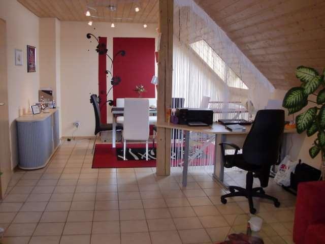 Liebenswürdige 2-Zimmer-Dachgeschosswohnung in Geisenfeld in