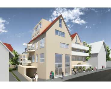 Neubau Gewerbeeinheiten im Herzen von Eningen zb. Gewerbe 2 (Haus B) / EG+OG in Eningen unter Achalm