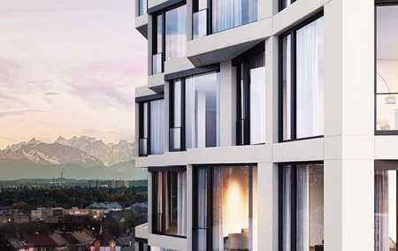 Friends !Exklusives 2 Zimmer Loft im10.Stck. , Neuhausen.Luxury apartment with stunning view! in Neuhausen (München)