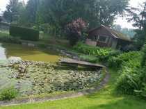 Freizeit-Genuss am eigenen Teich mit