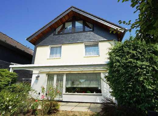 Ca. 175 m² Wohn-/Nutzfläche: Gepflegtes Einzelhaus in ruhiger Sackgassenlage am Leimbacher Berg!